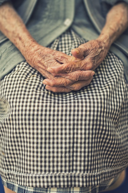 Massage pour les personnes âgées